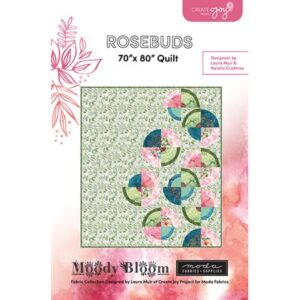 Rose Buds Pattern By Create Joy Project For Moda - Min. Of 3