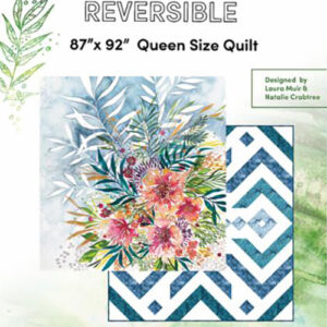 Moody Bloom Reversible Quilt Pattern By Create Joy Project For Moda - Min. Of 3