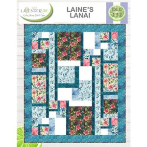 Laine's Lanai Pattern By Lavender Lime For Moda - Min. Of 3