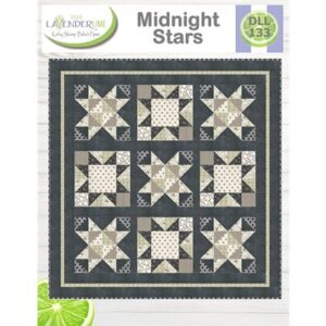 Midnight Stars Pattern By Lavender Lime For Moda - Minimum Of 3