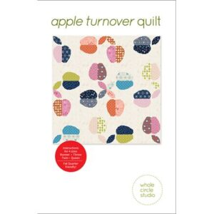 Apple Turnover Quilt Pattern By Whole Circle Studio For Moda - Minimum Of 3