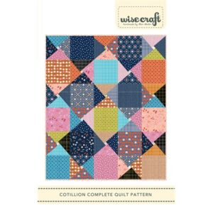 Cotillion Pattern By Wise Craft Handmade For Moda - Minimum Of 3