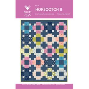 Hopscotch Ii Pattern By Emily Dennis Quilty For Moda - Minimum Of 3