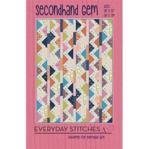 Secondhand Gem Pattern By Everyday Stitches For Moda - Minimum Of 3