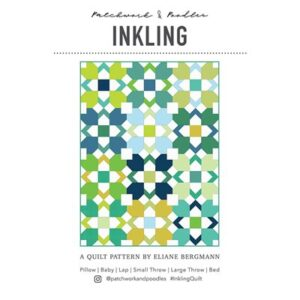 Inkling Pattern By Patchwork & Poodle For Moda - Minimum Of 3