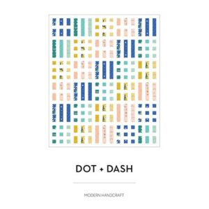 Dot + Dash Pattern By Modern Handcraft For Moda - Minimum Of 3