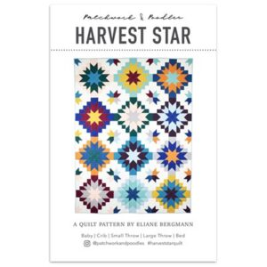 Harvest Star Pattren By Patcwork & Poodle For Moda - Minimum Of 3