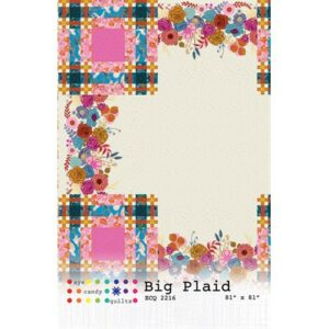 Big Plaid Pattern By Eye Candy Quilts For Moda - Minimum Of 3