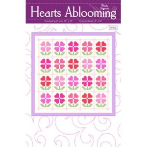 Hearts Abloomingrts Ablooming By Wendy Sheppard For Moda - Minimum Of 3