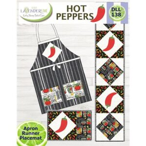 Hot Pepper By Lavender Lime For Moda - Minimum Of 3