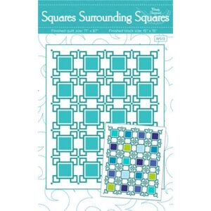 Squares Surround Squares Pattern By Wendy Sheppard For Moda - Minimum Of 3