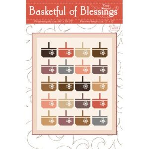 Basketful Of Blessings By Wndy Sheppard For Moda - Minimum Of 3
