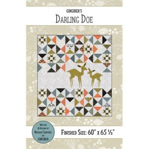 Darling Doe Pattern By Gingiber For Moda - Minimum Of 3