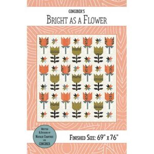 Bright As A Flower Pattern By Gingiber For Moda - Minimum Of 3