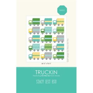 Truckin Pattern By Stacy Iest Hsu For Moda - Minimum Of 3