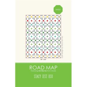 Road Map Pattern By Stacy Iest Hsu For Moda - Minimum Of 3