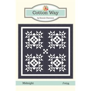 Midnight Pattern By Cotton Way For Moda - Min. Of 3