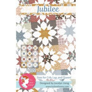Jubilee Pattern By It's Sew Emma For Moda - Min. Of 3
