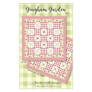 Ginham Garden Pattern By Acorn Quilt & Gift Co. For Moda - Minimum Of 3