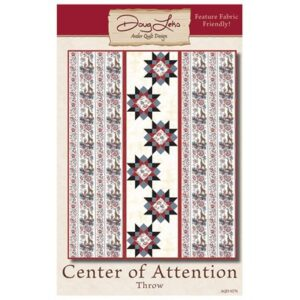 Center Of Attention Pattern By Antler Quilt Design - Minimum Of 3