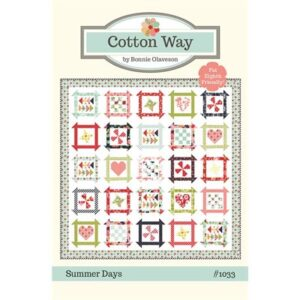 Summer Days Pattern By Cotton Way For Moda - Min. Of 3