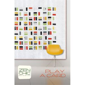 Play A Card Pattern By Zen Chic For Moda - Min. Of 3