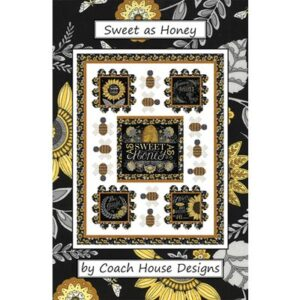Sweet As Honey Pattern By Coach House Designs - Min. Of 3