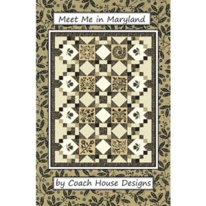 Meet Me In Maryland Pattern By Coach House Designs - Min. Of 3