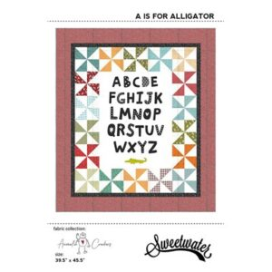 A Is For Alligator Pattern By Sweetwater For Moda - Min. Of 3