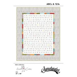 Abc's & 123's Pattern By Sweetwater For Moda - Min. Of 3