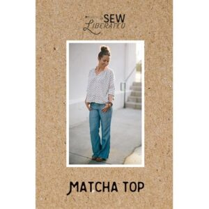Matcha Topby Sew Liberated For Moda