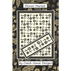 Flower Market Pattern By Coach House Designs - Min. Of 3