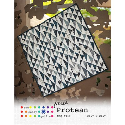 Fierce Protean Pattern By Eye Candy Quilts For Moda - Minimum Of 3