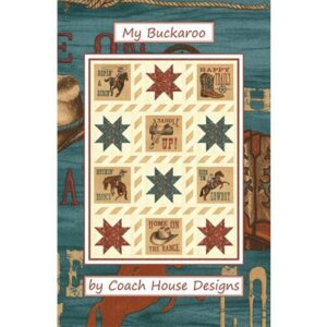 My Buckaroo Pattern By Coach House Designs - Min. Of 3