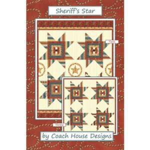 Sheriff's Star Pattern By Coach House Designs - Min. Of 3