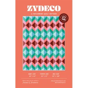 Zydeco Pattern By Satterwhite Quilt For Moda - Minimum Of 3