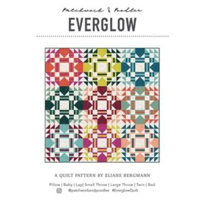 Everglow Pattern By Patcheork & Poodle For Moda - Minimum Of 3