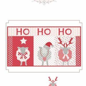 Ho Ho Ho Pattern By Bunny Hill Designs - Minimum Of 3