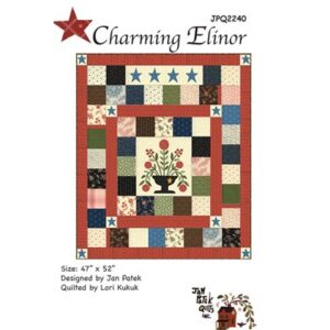 Charming Elinore Pattern By Jan Patek Quilts For Moda - Min. Of 3