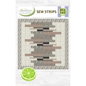 Sew Strip Pattern By Lavender Lime For Moda - Minimum Of 3