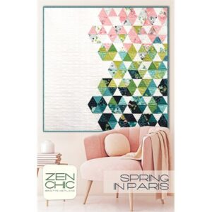 Spring In Paris Pattern By Zen Chic For Moda - Minimum Of 3