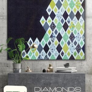 Diamonds & Grey Pattern By Zen Chic For Moda - Minimum Of 3