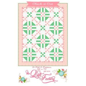 Check It Out Pattern By The Quilt Factory For Moda - Minimum Of 3