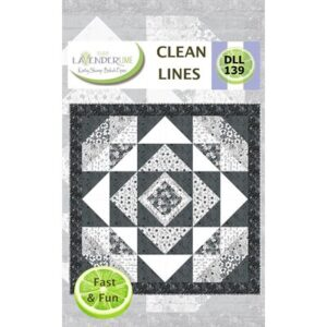 Clean Lines Pattern By Lavender Lime For Moda - Minimum Of 3