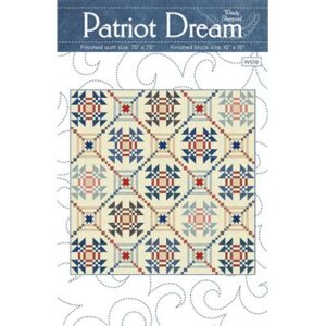 Patriot Dream Pattern By Wendy Sheppard For Moda - Minimum Of 3