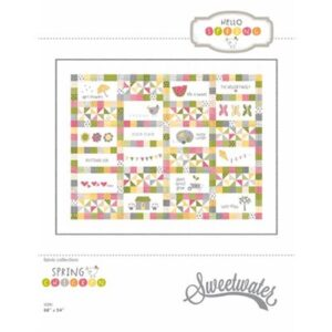 Hello Spring Pattern By Sweetwater For Moda - Minimum Of 3