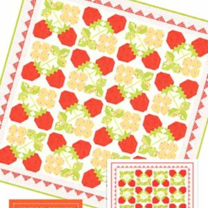 Strawberry Blossoms Pattern By Fig Tree & Co.  - Min. Of 3