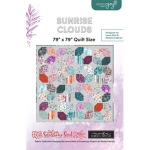 Sunrise Clouds Pattern By Create Joy Project For Moda - Minimum Of 3