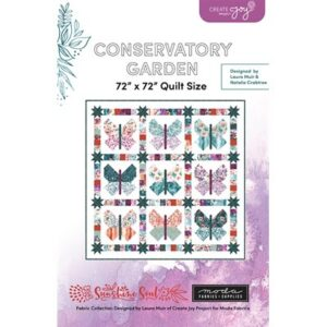 Conservatory Garden Pattern By Create Joy Project For Moda - Minimum Of 3