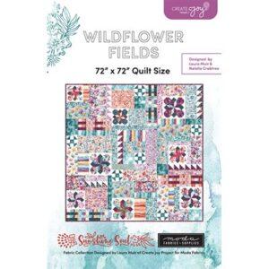 Wildflower Fields Pattern By Create Joy Project For Moda - Minimum Of 3